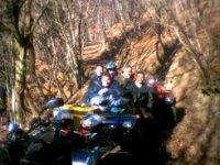 Escursione tra i boschi in quad