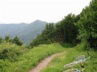 Un sentiero da escursion