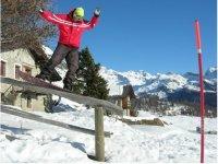 Snowboard Park in Aosta