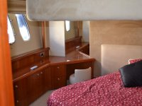 The cabin of the Sunseeker