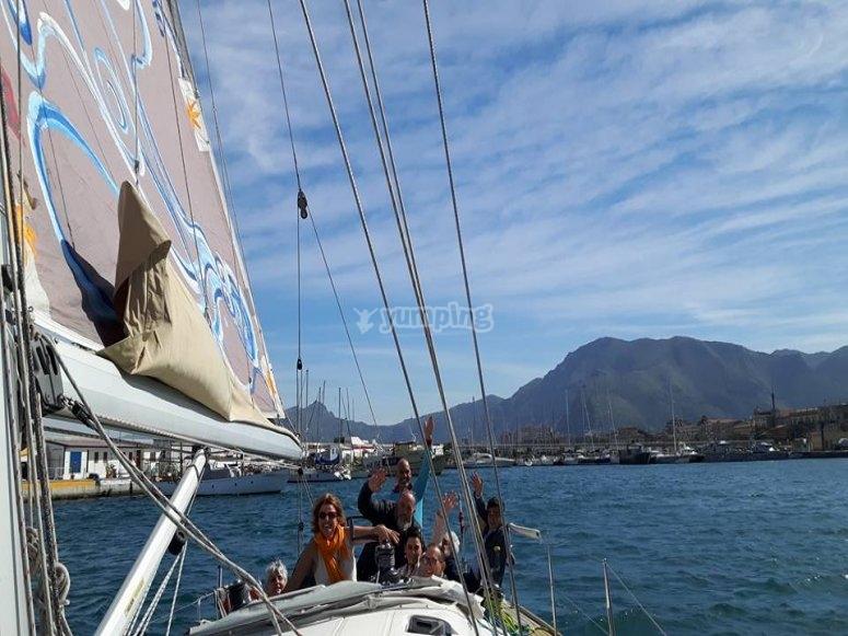 Una bella giornata in barca