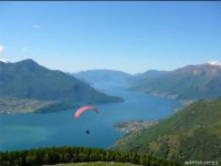 Voli parapendio tandem lago di Como