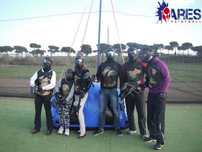 Paintball a Roma - Tariffa Basic 140 paintballs