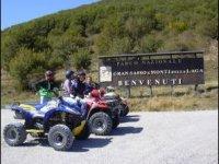 Inizia l'escursione nel parco nazionale