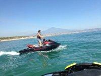 Divertimento in Sicilia con le moto d'acqua