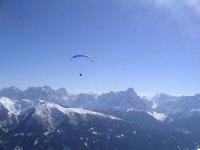 dominare le Alpi in Parapendio