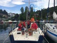 Noleggio barche a vela sul Lago Maggiore