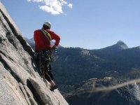 Climbing alta montagna