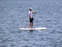 Stand un paddle sul Lago Maggiore
