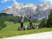 Le Dolomiti in Segway