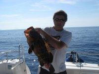 Pescando con un professionale