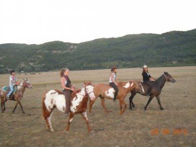 All Saints on horseback Abruzzo National Park
