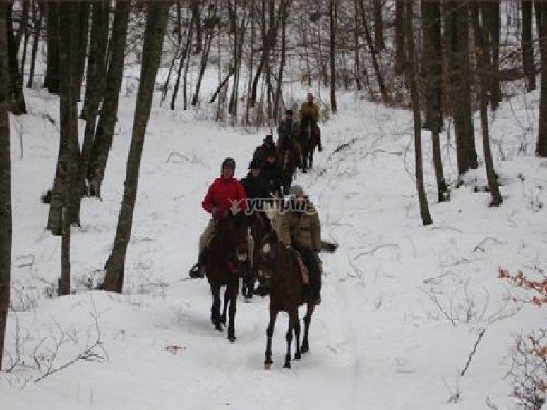 A cavallo anche con la neve.jpg