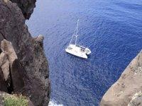 Sul Tirreno in catamarano
