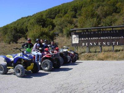 Escursione quad di un'ora (Alta Valpescara)