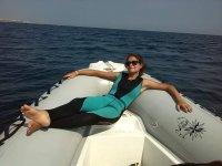 un po' di pausa prima di immergersi