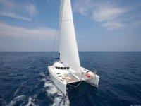 Catamaran rentals for Ponza