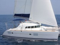 We sail with a skipper