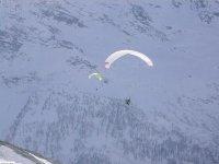 Volare sulle piste di sci a Macugnaga