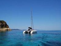 In catamarani verso la Grecia