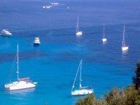 Naviagando verso le isole ioniche