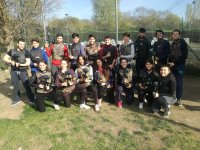Foto con la squadra