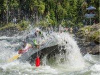 rafting nella valle
