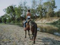 a cavallo in Umbria