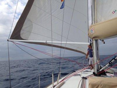 Week on a sailing boat, Aeolian Islands high season