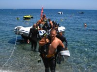After the Diving