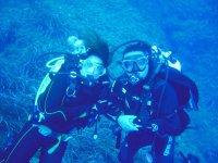 Selfies during diving