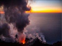 il vulcano attivo