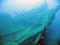 bengal wreck - upper part stern