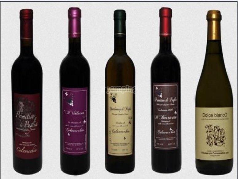 I vini della tenuta