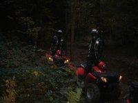 Tour in quad notturni