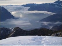 Vista lago D'Iseo da Monte Alto