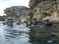Ragazzi pronti ad immergersi
