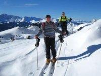 Sci alpinismo Monte Bianco