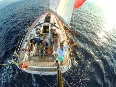 Week end in barca a vela in Sicilia