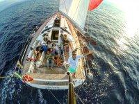 Selfie in alto mare