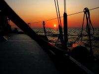 Osservando il tramonto