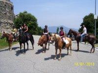 In visit alle rovine storiche di San Michele