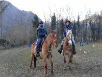 A cavallo nella Val di Susa