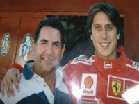 Matteo Montezemolo con Mario Fini