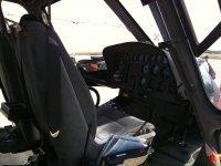Interni di uno dei nostri elicotteri