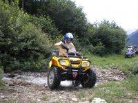 Provando il quad