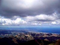 Lo Stretto di Messina visto dall'alto