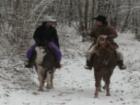 Trekking nell inverno