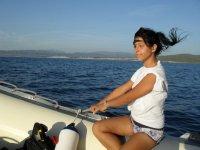 Valentina (Accoglienza Clienti in barca e a terra)