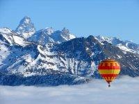 Ammirando le Alpi